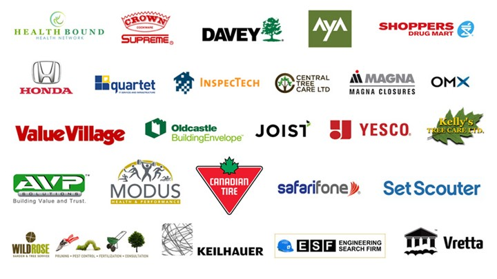 Logos of Employers we've worked