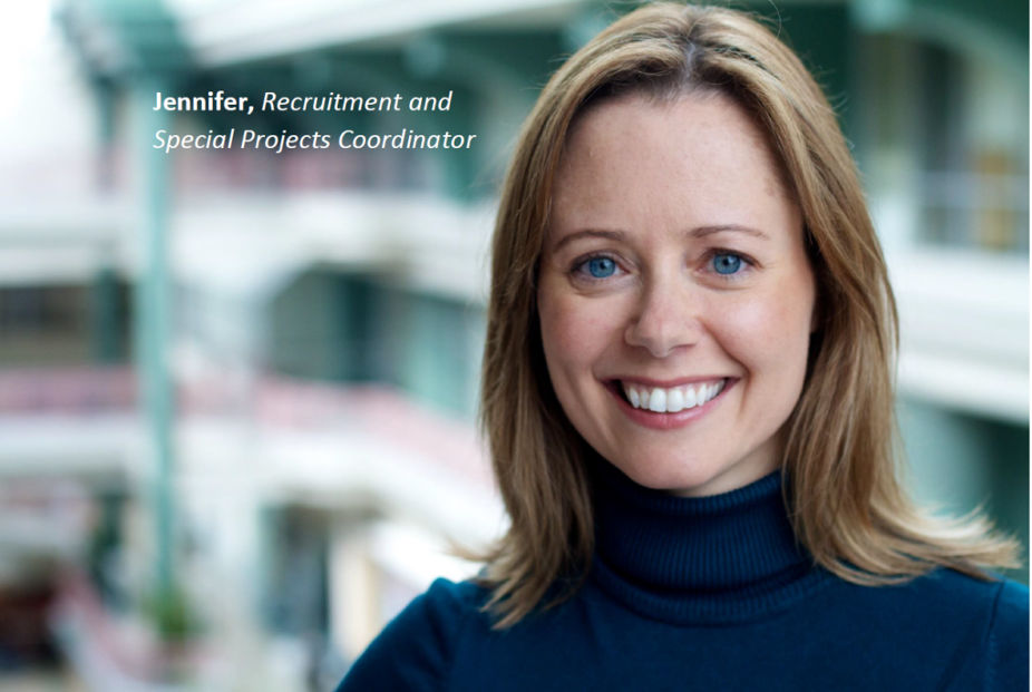 Jennifer, an employee at The Career Foundation