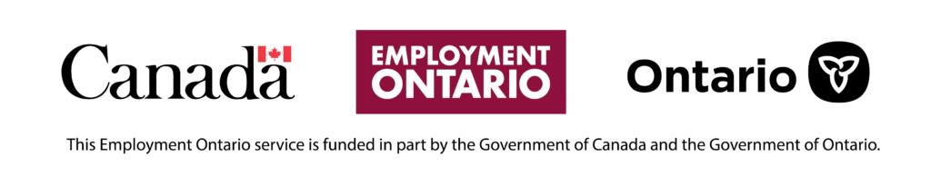 Employment Ontario tri-logo
